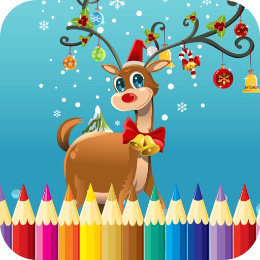 Christmas Coloring Pages For Preschool Toddlers