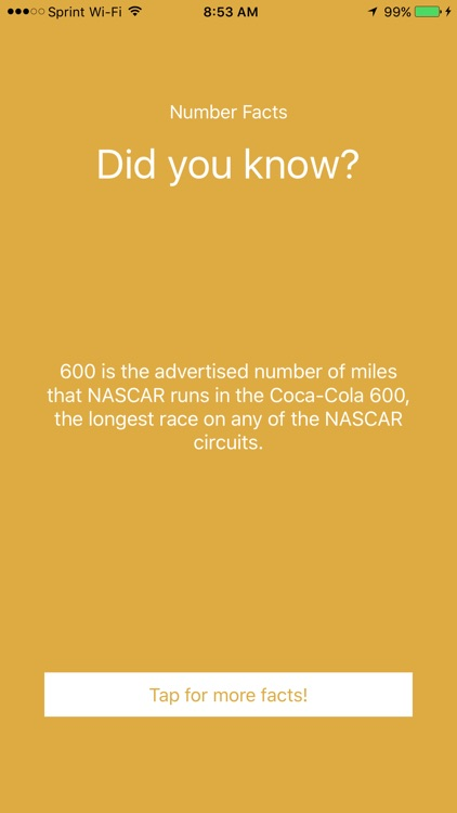 Did you know? Number Facts