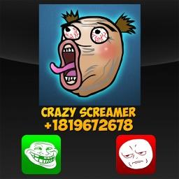 Fake Call Troll Face Joke