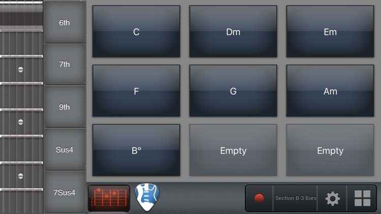 Guitar Chord Progression Songwriter screenshot-4
