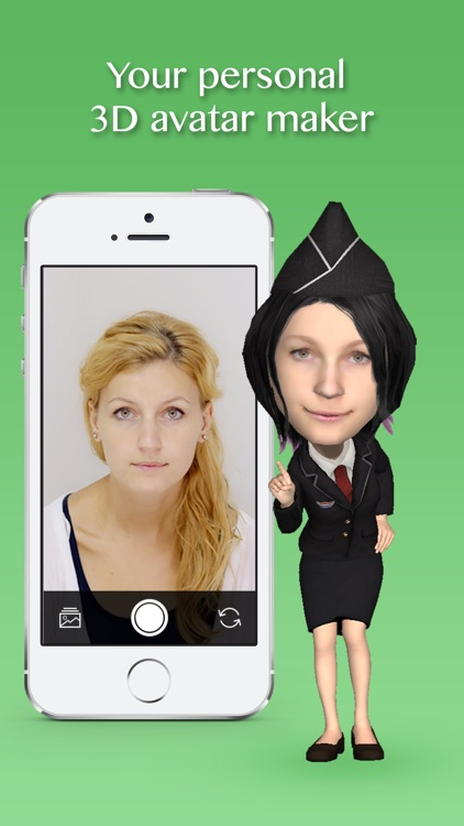 Insta3D - create your own 3D avatar