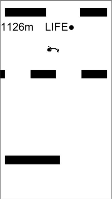 ダウンロード 落ちろ!!-爽快棒人間アクションゲーム!!- -PC用