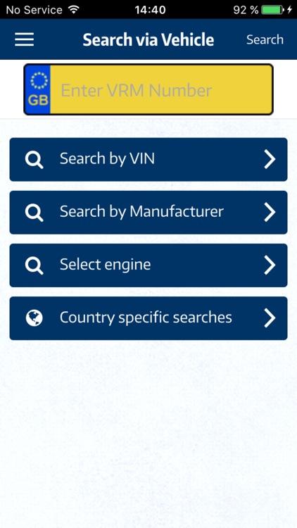 TecDoc Catalogue Mobile screenshot-3