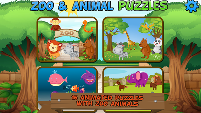 Zoo and Animal Puzzles screenshot one