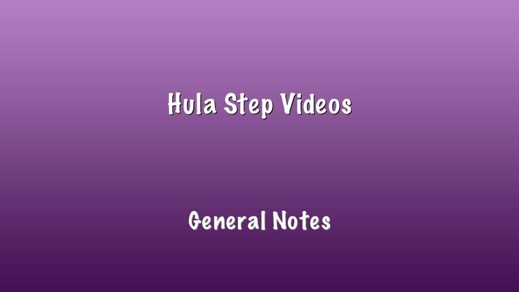 Hula 101