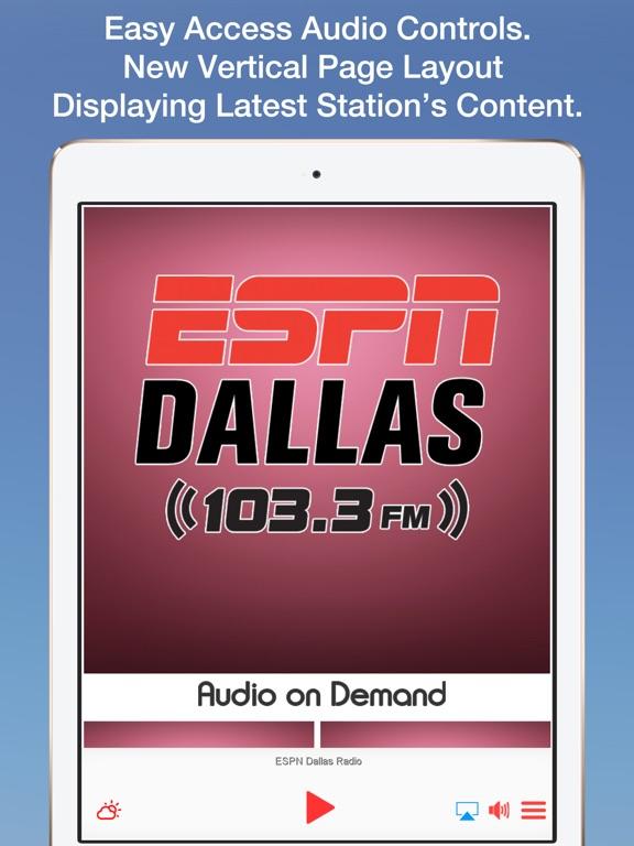 ESPN Dallas Radio-ipad-0