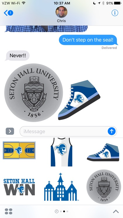 Seton Hall Stickers screenshot-3