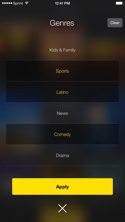 SprintTV screenshot-4