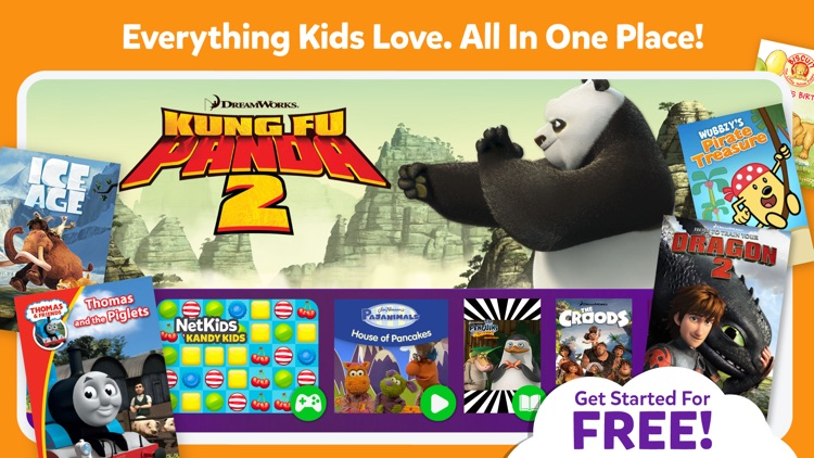 NetKids Digital Entertainment Network for Kids screenshot-0