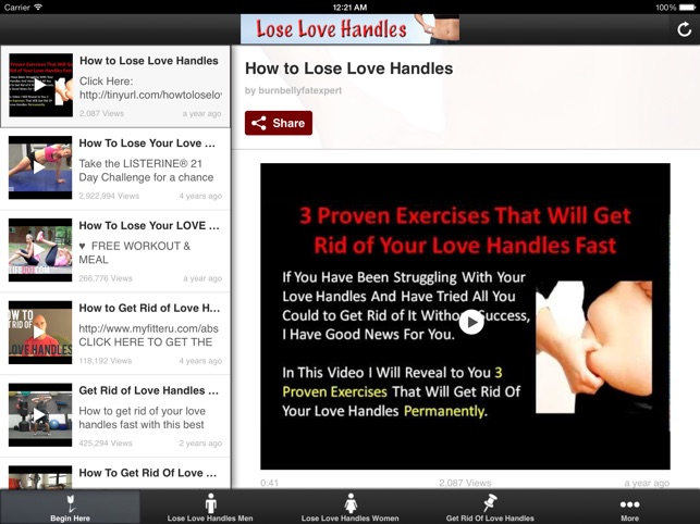 How To Lose Love Handles Get Rid Belly Fat Fast On The App Store