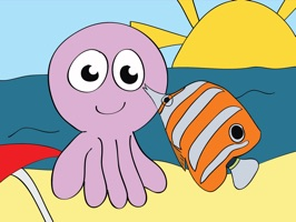 Meet your marine animal friends, stickers that entertain and teach kids of all ages