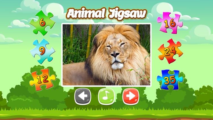 Animal Photo Jigsaw Puzzle Games HD