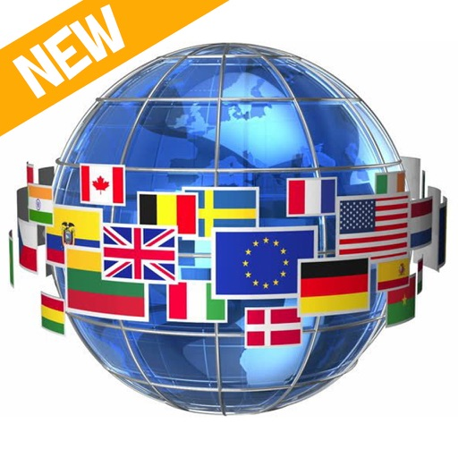 Flags Stickers of the World Countries all 3d Emoji iOS App