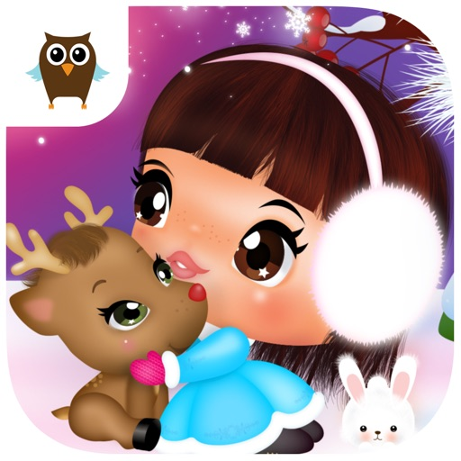 Sweet Little Emma Winterland 2 Cute Reindeer Care