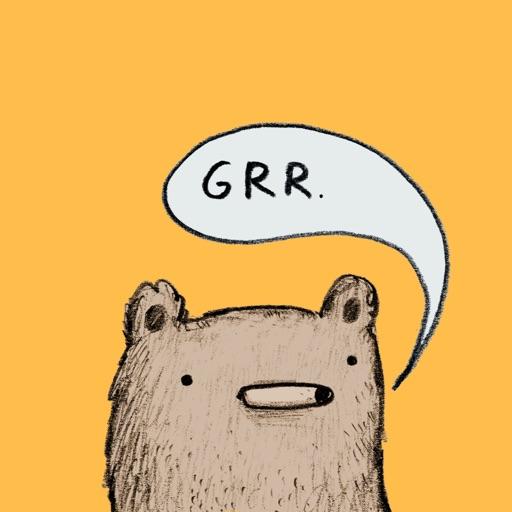 Bear - Redbubble sticker pack