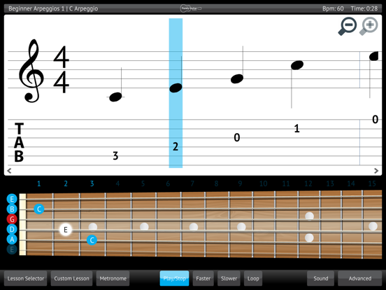 Learn & Practice Acoustic Guitar Lessons Exercises screenshot three