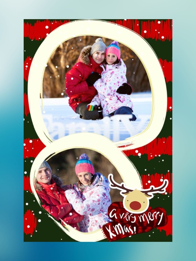 Christmas Pip Collage Maker On The App Store