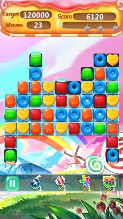 Candy Mania Jelly Blast-match 3 puzzle crush free game screenshot-4