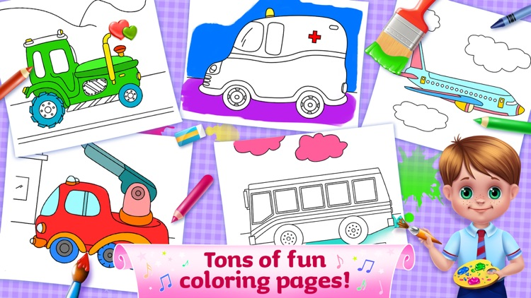 The Wheels On The Bus - Activities & Sing Along screenshot-3