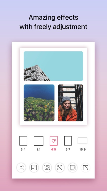iCollage - The quickest photo collage maker app screenshot-3