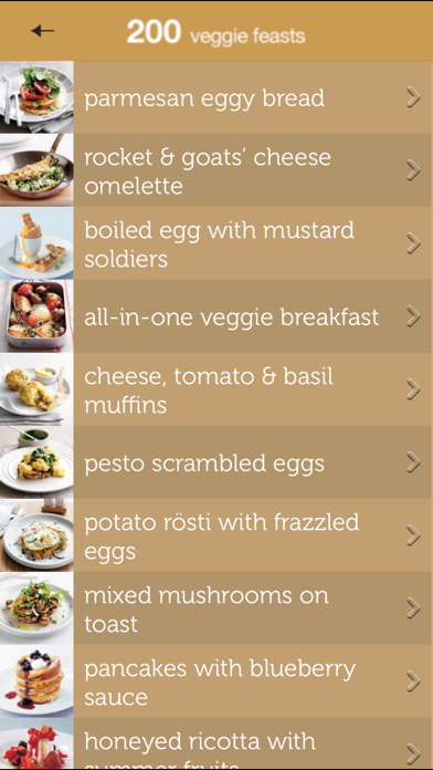 200 Veggie Feasts from Hamlyn Screenshot