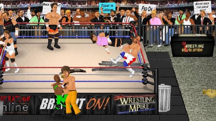 Wrestling Revolution Screenshot