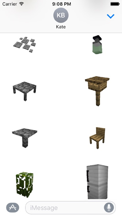 Furniture Mod Stickers