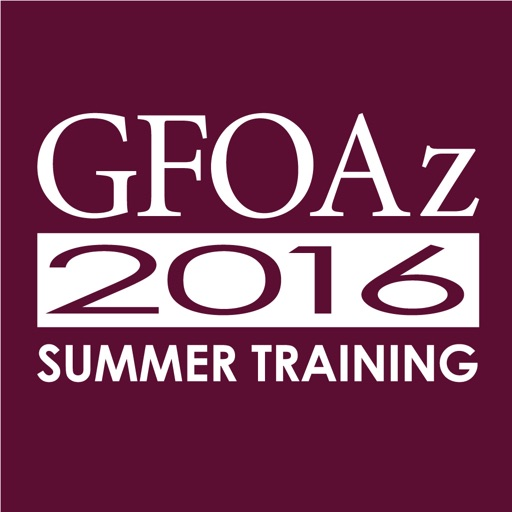 2016 GFOAz Summer Training