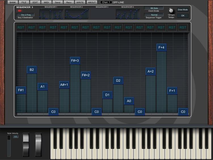 Mopho X4 Sound Editor screenshot-4