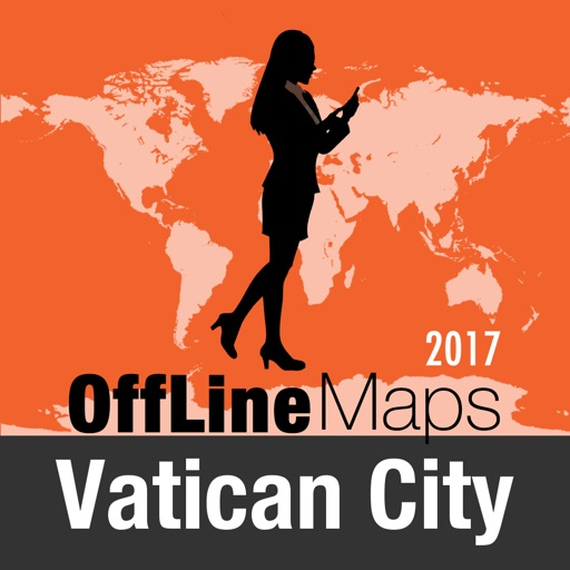 Vatican City Offline Map and Travel Trip Guide