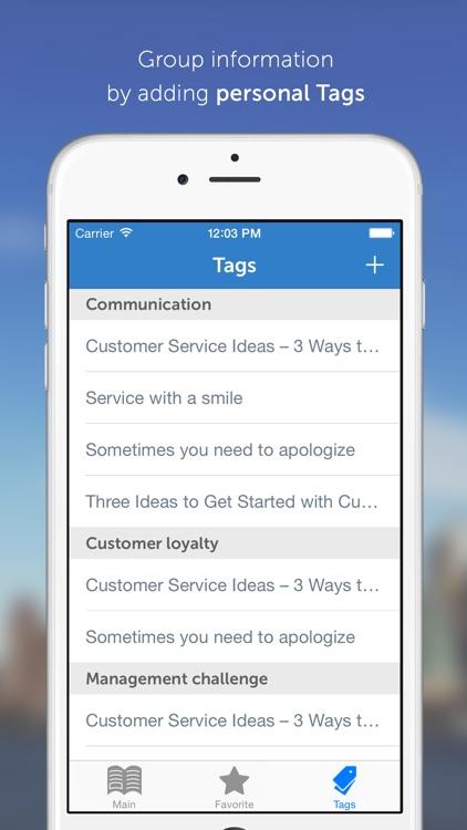 MBA Series: 25 Valuable Ideas in Customer Service screenshot-4