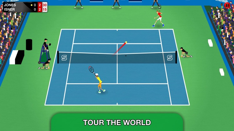 Stick Tennis Tour screenshot-0