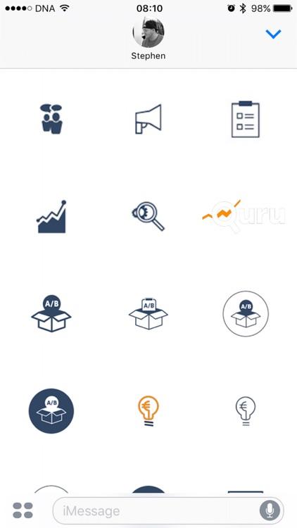 Quru Analytics Sticker Pack