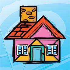 Activities of Kids Doodle & Discover: Houses, Cartoon Tangram