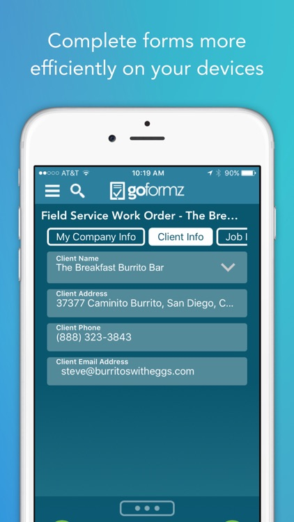 GoFormz Mobile Forms and Reports screenshot-4