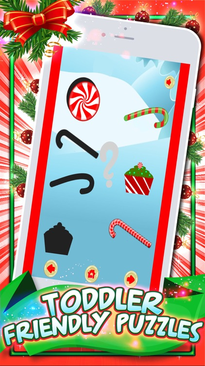 Holiday Games! Christmas Puzzles For Toddler Kids screenshot-3