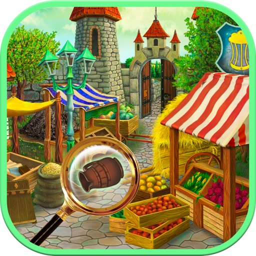 Hidden Object Market: Find and Spot the difference iOS App