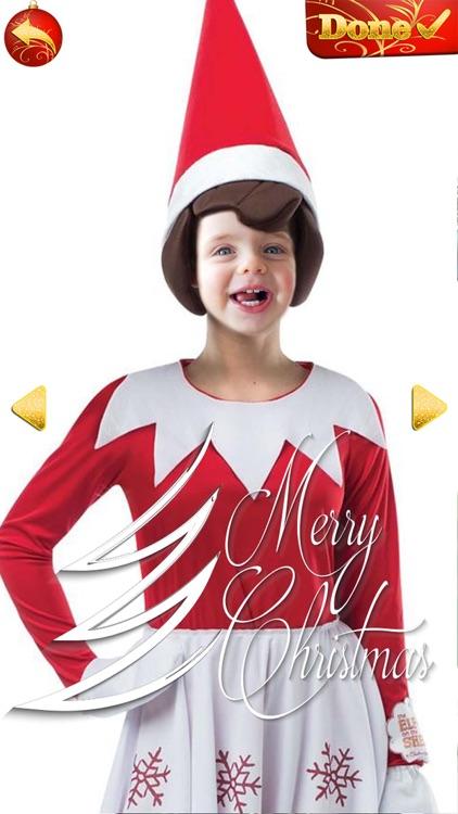 Elf Yourself - Christmas Photo Editor Cam Stickers screenshot-4