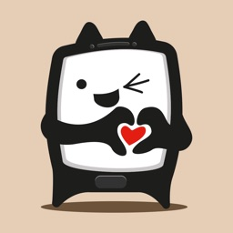 Square Cat Stickers for iMessage Conversations
