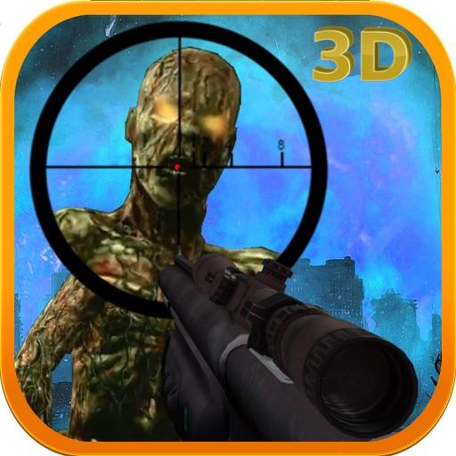 3D Sniper Shot Zombie War Gun Soldier Free Games iOS App