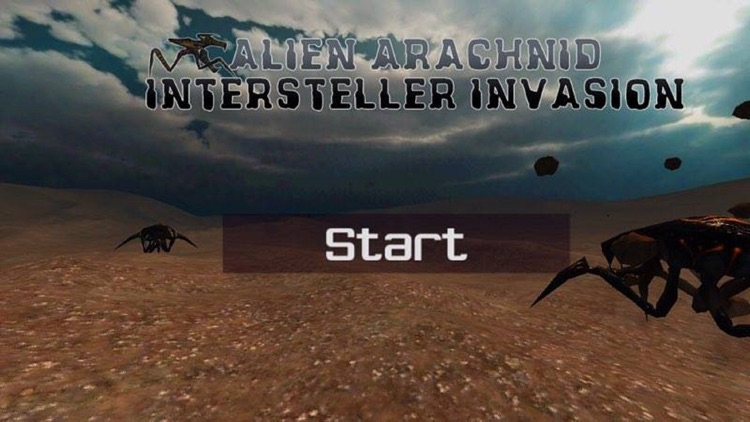 Alien Arachnid intersteller invasion 3D screenshot-4