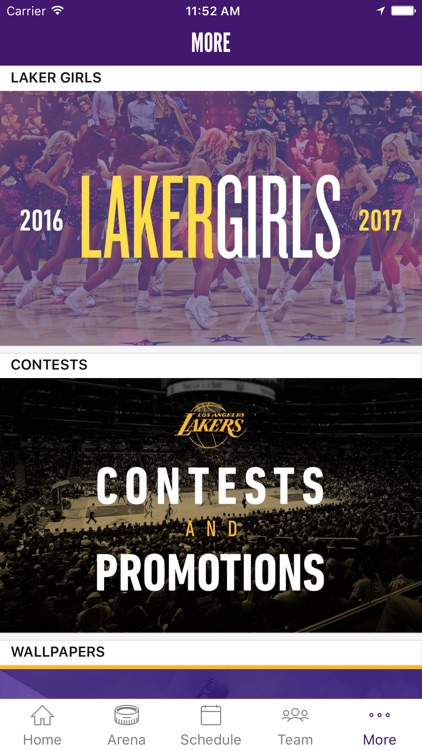 Los Angeles Lakers Official Mobile App screenshot-4