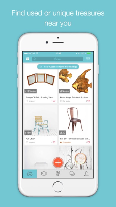 download Trove Marketplace: Buy & Sell Local Used Furniture & Home Decor, and Resell Second Hand Stuff in Your Community.