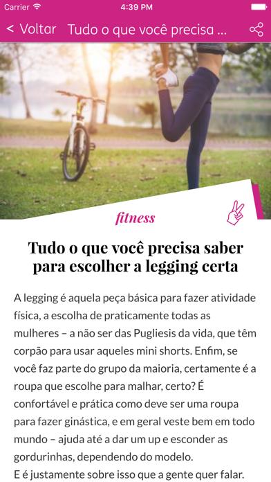TIM Espaço Mulher screenshot three