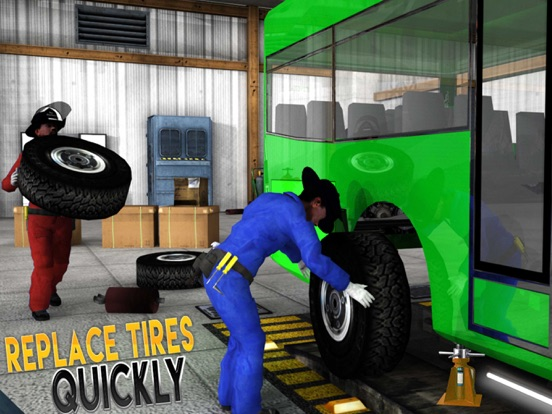 Real Bus Mechanic Simulator 3D Car Garage Workshop | App Price Drops