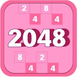 2048 Pretty Candy Pink