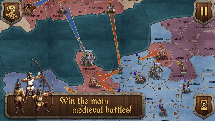 Strategy & Tactics Medieval screenshot-0