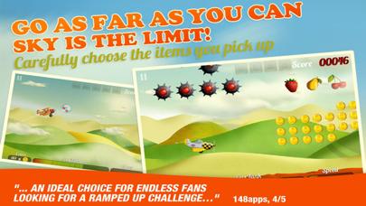 Tiny Plane Infinite Sky Racing Screenshot on iOS
