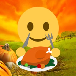 ThanksGiving Sticker - Turkey Gifs & Emojis Free