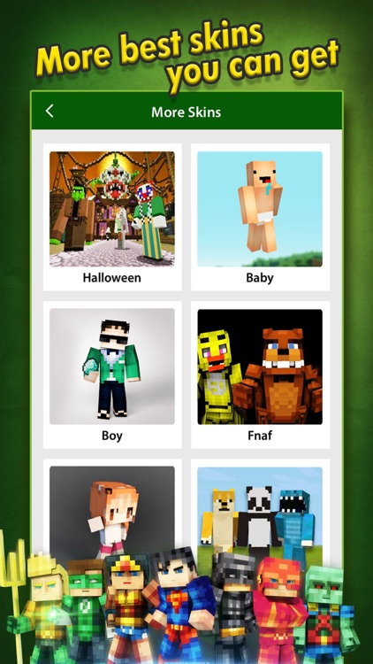 SuperHero Skins Creator - Minecraft Pocket Edition